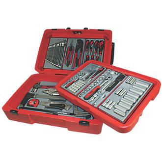 5ab2f80d0f2 Teng Tools Portable Auto Tool Kit 100 Pieces (1057X)