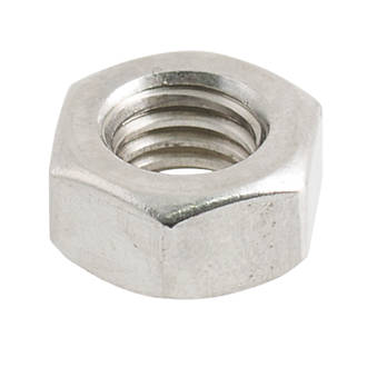 Stainless Hex Nut Pack of 50 M10