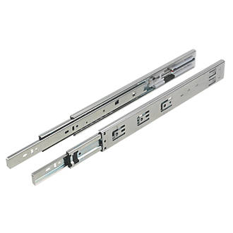 Soft Close Ball Bearing Drawer Slides 350mm 2 Pack Runners Fix