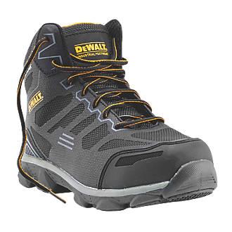 DeWalt Crossfire Safety Boots Black / Grey Size 10