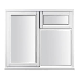 Jeld Wen Lh Double Glazed Casement White Painted Timber Window 1195 X 1045mm Windows Screwfix Com