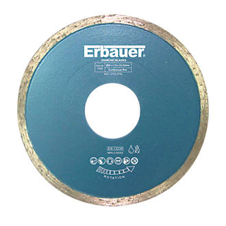 Erbauer Diamond Tile Blade 80 X 22 23mm Blades Fix