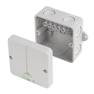 Ced Ip65 Adaptable Box 80 X 80 X 52mm Junction Boxes Screwfix Com