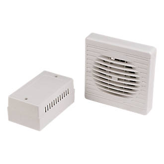 Surprising Manrose Xf100Lvt Sc 10W Bathroom Extractor Fan With Timer White 12V Interior Design Ideas Grebswwsoteloinfo