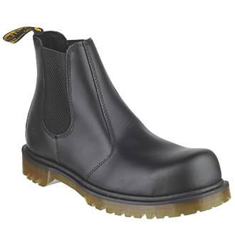 Dr Martens Icon 2228 Safety Dealer Boots Black Size 13 | Dealer Boots |  Screwfix.com