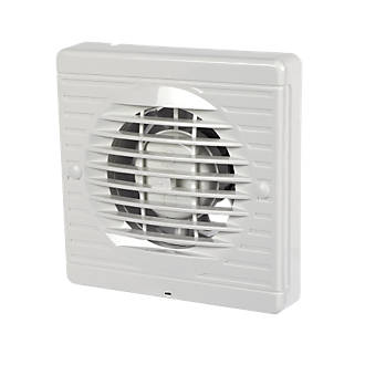 Manrose Xf100t 15w Bathroom Extractor Fan With Timer White 240v Fans Fix