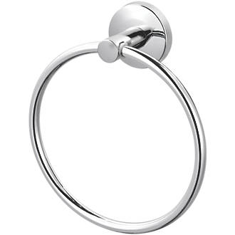Wondrous Cooke Lewis Charm Towel Ring Chrome 165 X 58 X 165Mm Download Free Architecture Designs Scobabritishbridgeorg