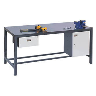 Brilliant Heavy Duty Workbench 840 X 1800 X 600Mm 1800 X 600 X 840Mm Evergreenethics Interior Chair Design Evergreenethicsorg