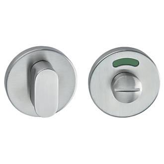 Hafele Bathroom Thumbturn Release With Indicator Stainless Steel