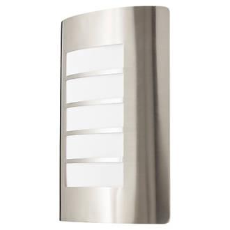 Lap G03306 Outdoor Wall Light Stainless Steel Outdoor Wall Lights Screwfix Com