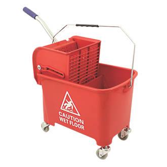 Mop Bucket Red 20ltr Mops Buckets