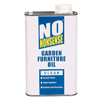 No Nonsense Garden Furniture Oil Clear 1ltr 2043r