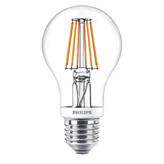 Philips ES GLS LED Virtual Filament Light Bulb 806lm 75W