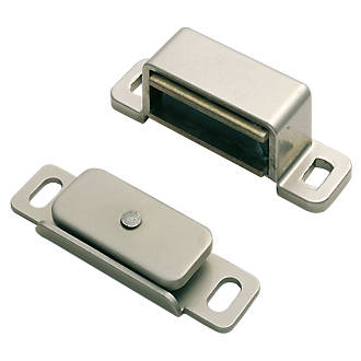 Carlisle Brass Magnetic Catch Nickel Plated 15 X 14mm