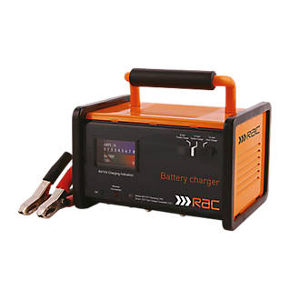 Rac Rac Hp026 12a Battery Charger 6 12v Car Battery Chargers Screwfix Com
