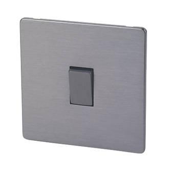 Lap 10ax 1 Gang 2 Way Light Switch Slate Effect Switches Sockets Screwfix Com