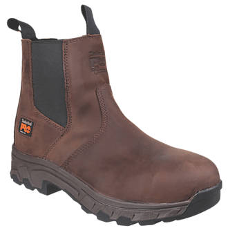 5d1e3ae3867d Timberland Pro Workstead Safety Dealer Boots Brown Size 9 (2167T)