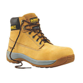 968a26bfbe6 DeWalt Apprentice Safety Boots Wheat Size 12
