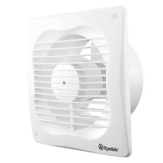 Xpelair Vx100 Aww 16w Bathroom Extractor Fan White 240v Bathroom Extractor Fans Screwfix Com