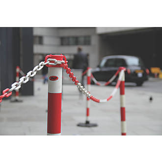 Plastic Warning Chain 30 m Red and White Chain Kit
