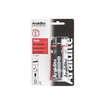 Araldite 2-Part Epoxy Adhesive Tubes Opaque 2 x 15ml