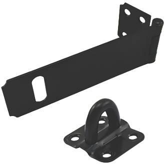 Hasp And Staple >> Smith Locke Hasp Staple Black 90mm
