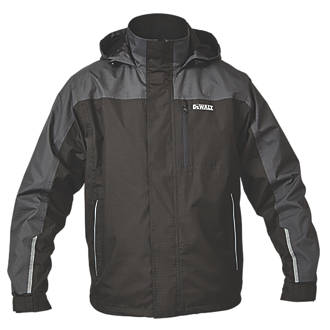 DeWalt Storm Waterproof Jacket Black / Grey Medium 39-41