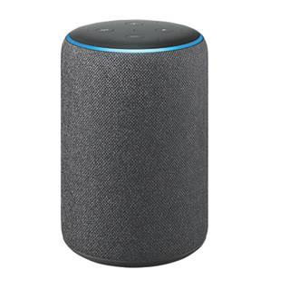 Amazon Echo Plus 2nd Gen Voice Assistant Charcoal Fabric Wifi