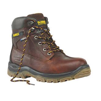 0a6c233d064d DeWalt Titanium Safety Boots Tan Size 9 (25461)