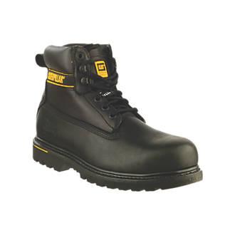 7217d6d570c CAT Holton SB Safety Boots Black Size 6