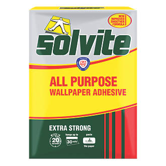 Solvite Extra Strong Wallpaper Adhesive Trade Box 30 Roll Pack (26023)