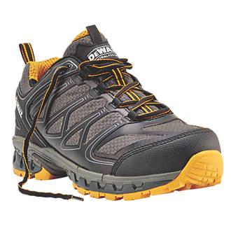 813ab99fa7d DeWalt Garrison Safety Trainers Charcoal Grey / Yellow Size 9