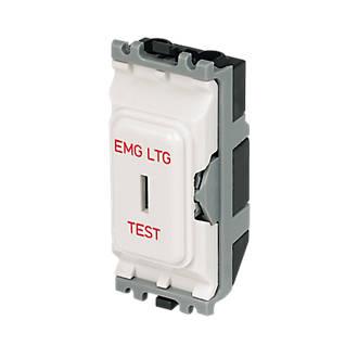 Astounding Mk 2 Way 20A Sp Emergency Lighting Test Secret Key Switch White Wiring Cloud Hisonuggs Outletorg