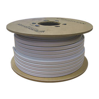 Prysmian 6242bh White 4mm Twin Earth Cable 100m Drum Cable Screwfix Com