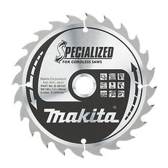 Makita tct circular saw blade 165 x 20mm 24t circular saw blades makita tct circular saw blade 165 x 20mm 24t circular saw blades screwfix greentooth Image collections
