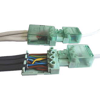 Prime Greenbrook 20A 3 Pole Lighting Connector 250V Pack Of 2 Cable Wiring Cloud Pimpapsuggs Outletorg