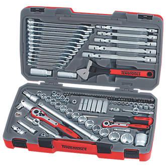Workshop Power Hand Tool Parts 6 Pcs//set Steel Drive Sockets Female Wrench Bit