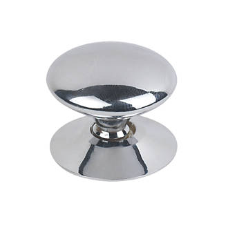Victorian cabinet door knob polished chrome 30mm 5 pack cabinet victorian cabinet door knob polished chrome 30mm 5 pack cabinet knobs screwfix planetlyrics Choice Image