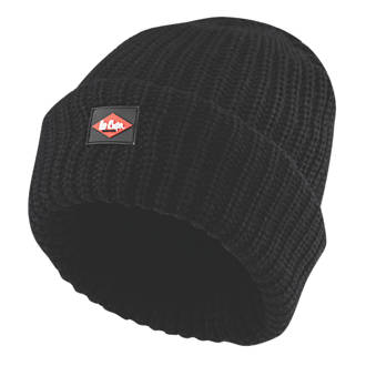 572656d02eb Lee Cooper Heavy Knit Beanie Hat Black (2904F)