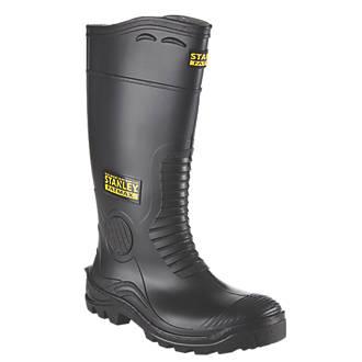 909775e71c4 Stanley FatMax Vancouver Safety Wellingtons Black Size 11