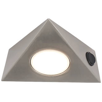 Lap Led Triangular Cabinet Downlight Variable White 5w 130mm