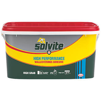 Solvite Ready Mixed Wallpaper Adhesive 5 Roll Pack