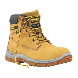 008f223b8bf DeWalt Titanium Safety Boots Honey Size 9