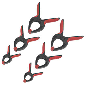 """2 PACKED 4/"""" SPRING CLAMP SET DIY TOOL DURABLE"""