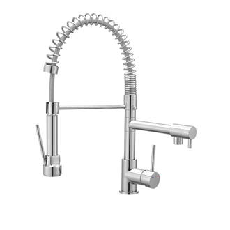 Cooke And Lewis 19a Pull Out Spray Mono Mixer Kitchen Tap Chrome Taps Fix