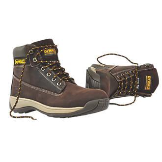 6135479403b DeWalt Apprentice Safety Boots Brown Size 10