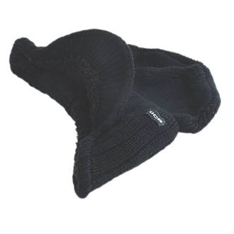 c801584ede3 JCB Peaked Beanie Hat Black (315FK)