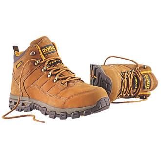 83b11bee611 DeWalt Pro-Lite Comfort Safety Boots Brown Size 9