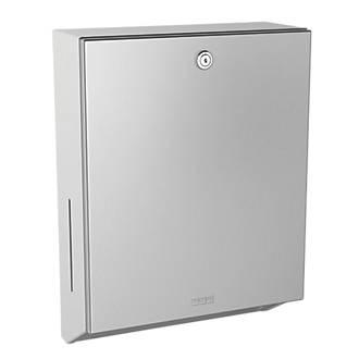 Franke Rodan Lockable Paper Towel Dispenser Wall Mounted Stainless Steel Dispensers Fix