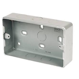 Strange Mk 3 4 Module Metal Clad Box Grid Wiring Screwfix Com Wiring 101 Omenaxxcnl